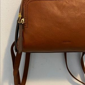 Fossil Bags - Fossil Authentic Genuine Leather Backpack